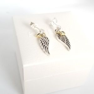 PANDORA Love & Guidance Earrings, Clear CZ